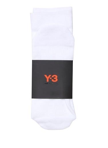 Y-3 Çorap Beyaz